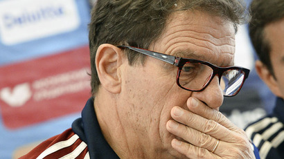 Russian national team's head coach Fabio Capello (RIA Novosti/Alexander Vilf)