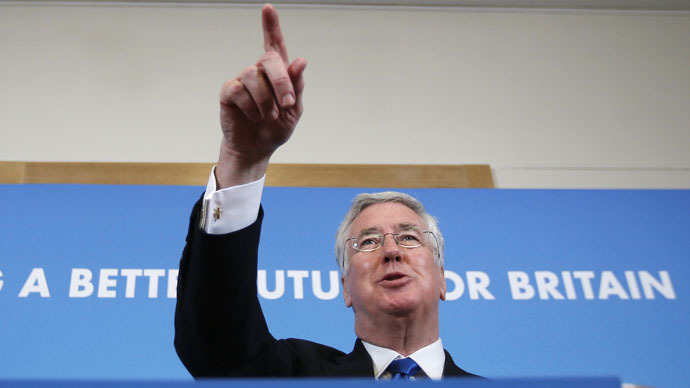 Britain's Defense Minsiter, Michael Fallon. (Reuters/Peter Nicholls)