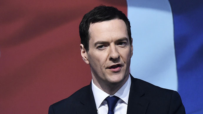 Britain's Chancellor of the Exchequer, George Osborne. (Reuters/Toby Melville)