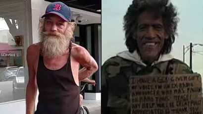 ​What can homeless 'Piano Man' Donald Gould learn from 'Golden Voice' Ted Williams?