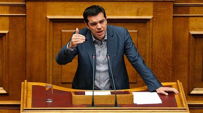 Greek Prime Minister Alexis Tsipras (Reuters / Alkis Konstantinidis)