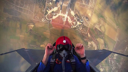 Turkish pilot sends F-16 to over 4km altitude in seconds (VIDEO)