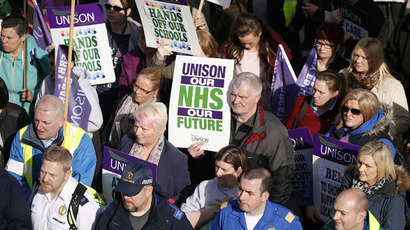 'Draconian' new strike laws could bankrupt Labour – union chiefs