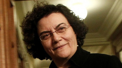 Greek Deputy Finance Minister Nadia Valavani (Photo from wikipedia.org)
