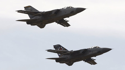 Royal Air Force (RAF) Tornado F3 aircraft.(Reuters/David Moir)
