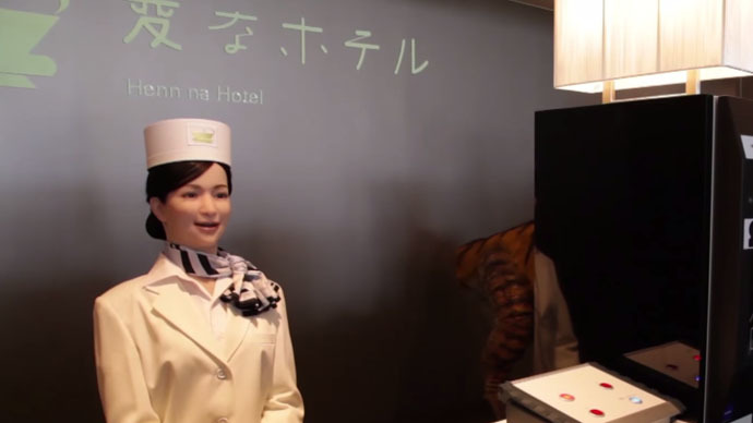 The future is now: 'Weird hotel' in Japan employs robot ...