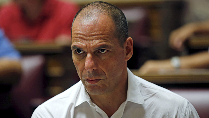 Former Greek Finance Minister Yanis Varoufakis (Reuters / Jean-Paul Pelissier)
