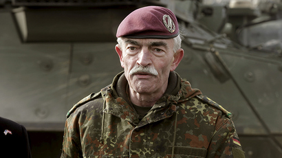 Commander Joint Force Command Brunssum General Hans-Lothar Domrose (Reuters / Ints Kalnins)