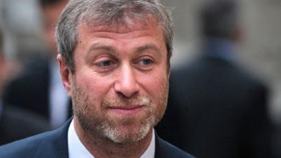 Russian billionaire Roman Abramovich (AFP Photo / Carl Court)