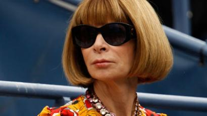 Editor-in-chief of American Vogue Anna Wintour.(AFP Photo / Mike Stobe)