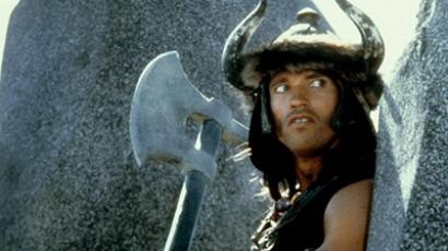 "The film stars Arnold Schwarzenegger at ""Conan the Barbarian"". (Image from kinopoisk.ru)"