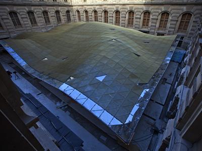 New Islamic art department of the Louvre museum (AFP Photo / Thomas Samson)