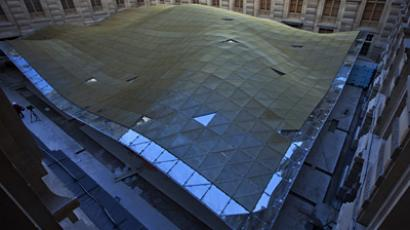 New Islamic art department of the Louvre museum (AFP Photo / Thomas Samson)