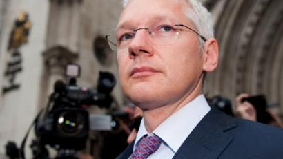 The Wikileaks founder Julian Assange (AFP Photo/Leon Neal)