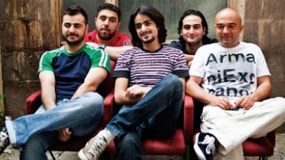 Armenian band Dorians was meant to represent the state at Eurovision 2012 in Baku (Image from alleurovision.ru)