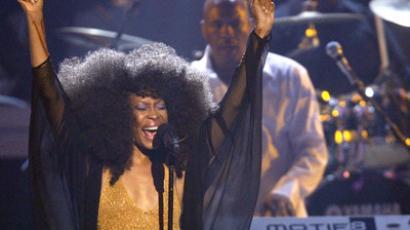 Singer Erykah Badu. (Reuters / Mario Anzuoni)