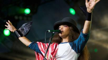 Badu to perform in Moscow on November 1 (Photo from http://www.erykah-badu.com/)