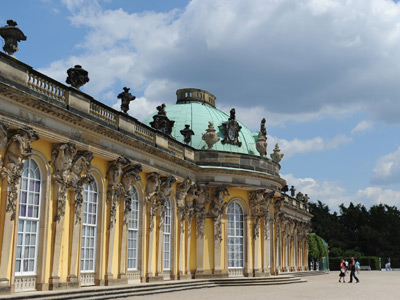 Sanssouci Palace in Potsdam near Berlin (AFP Photo / Johannes Eisele)