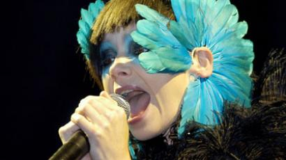 Icelandic pop star and actress Björk.(AFP Photo / Patrick Lux)