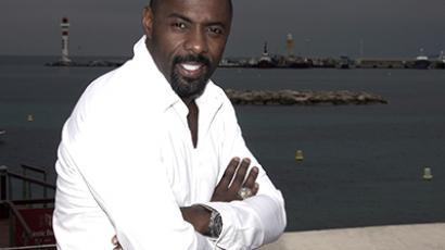 British Idris Elba. (AFP Photo / Stephane Danna)