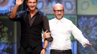 Domenico Dolce (R) and Stefano Gabbana (Reuters / Stefano Rellandini)