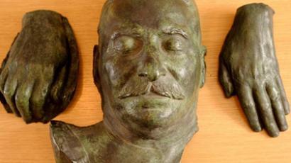 Stalin's bronze death mask to go under the hammer