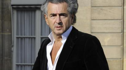 French reporter and philosopher Bernard-Henri Levy (Reuters / Gonzalo Fuentes)