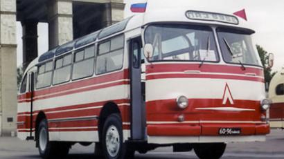 The bus that delivered Gagarin safely to the door of his space ship remained in service at the  cosmodrome until 1967.