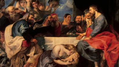 """Pieter Paul Rubens """"Feast in the House of Simon the Pharisee"""" from Walpole collection"""