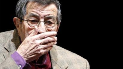 German author and Nobel Prize laureate Guenter Grass (AFP Photo / DDP / Michael Gottschalk)