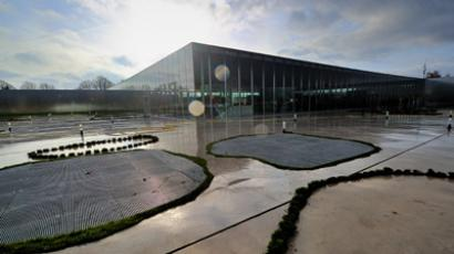The Louvre-Lens Museum in the French northern city of Lens (AFP Photo / Philippe Huguen)