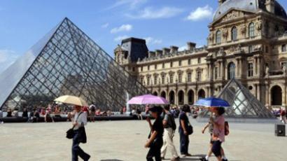 The Louvre (AFP Photo/Boris Horv)