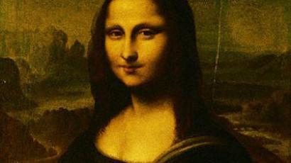 The Mona Lisa painting by Leondardo da Vinci