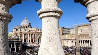 View of Saint Peter's Basilica (AFP Photo / Vincenzo Pinto)