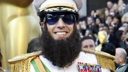 "Actor Sacha Baron Cohen as ""The Dictator"" at the 84th Academy Awards (Reuters / Mario Anzuoni)"