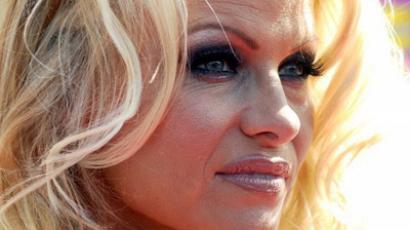 Actress Pamela Anderson (AFP Photo / Gabriel Bouys)