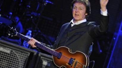 Sir Paul McCartney (AFP Photo / JOERG KOCH)