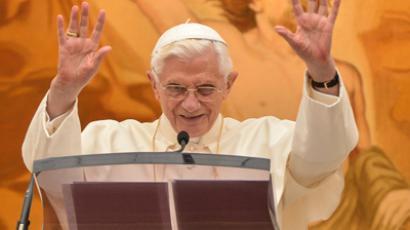 Pope Benedict XVI (AFP Photo / Andreas Solaro)