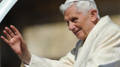 Pope Benedict XVI (AFP Photo / Andreas Solaro)