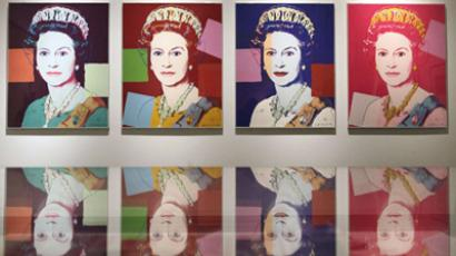 Andy Warhol's portraits of the Queen