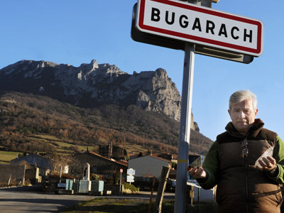 French village of Bugarach (AFP Photo/Pascal Pavani)