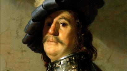 Bust of a Man in Gorget and Cap by Rembrandt van Rijn