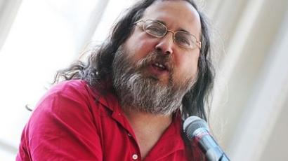 Richard Stallman will be RT's guest on December, 1 (Photo by Victor Powell / wikipedia.org)