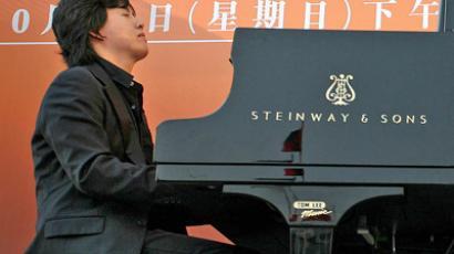 Pianist Li Yundi (AFP Photo/Samantha Sin)