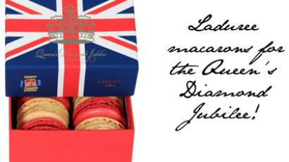 Queen's Diamond Jubilee macarons from Laduree (Image from fashionfoiegras.com)