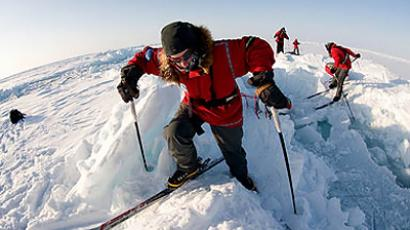 Russian schoolboy to join North Pole expedition (image from http://www.shparo.ru)