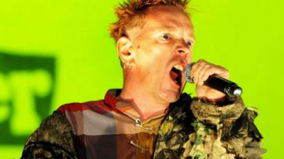 Johnny Rotten, British singer of the Sex Pistols' punk band  (AFP Photo / Fred Tanneau)