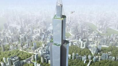 Proposed 220 floor Sky city (image from Wikipedia)