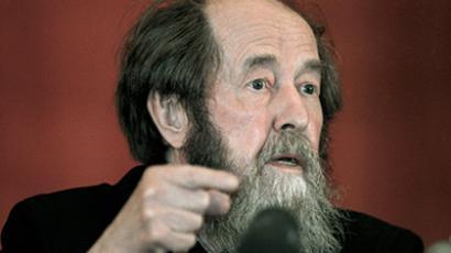 The author of The Gulag Archipelago, Aleksandr Solzhenitsyn (Photo RIA Novosti / STF)