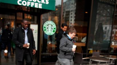 Starbucks to open tea shops (AFP Photo/Paul J. Richards )